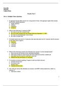 Answers: Exam 3 Practice Test