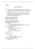 SUMMARY: Exam 2 Study Guide
