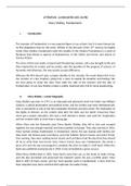 NOTES DE COURS: Literature - M. Shelley, Frankenstein