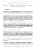 NOTES DE COURS: Literature & Civilisation - WW1 Poetry