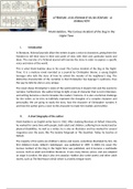 NOTES DE COURS: Literature - M. Haddon, The Curious Incident of the Dog in the Night-time
