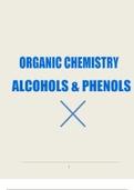 RESUME: Organic Chemistry : Alcohols and Phenols