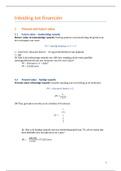 SAMENVATTING: Inleiding tot Financiën (VUB)