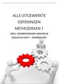 SAMENVATTING: METHODIEKEN 1   Alle uitgewerkte oefeningen (ICF, gedragsanalyse, diagnoseformulering en probleemsamenhang) met examenvragen van 2017