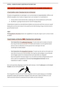 SAMENVATTING: METHODIEKEN 1 | Vertaling - Samenvatting artikel Asking the right questions in the right ways