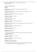 SUMMARY: Supply Chain Management and Logistics Approach- CH10 trial exam questions