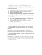 SAMENVATTING: Barney (1991). Firm resources and sustained competitive advantage