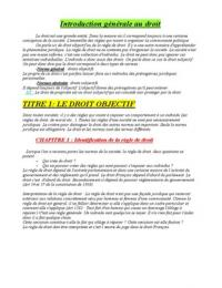 NOTES DE COURS: Droit civil-contrats