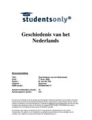 SUMMARY: Geschiedenis van het Nederlands