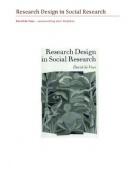 SUMMARY: Research Design in Social Research - Methoden & Technieken - MSc Bestuurskunde 2012-2013 - VU