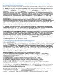Tentamen: Tentamen sociale wetenschappen periode 4, leerjaar 1