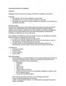 SUMMARY: Samenvatting \'Inleiding in de Pedagogiek\'
