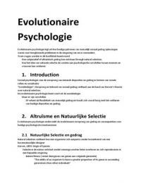 OTHER: Sociale psychologie 2