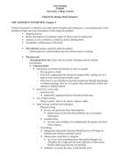 ZUSAMMENFASSUNG: Clinical Psychology: Summary: Chapter 6, 8, 10, 12.