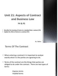 btec l3 diploma unit 21 aspects
