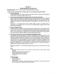SUMMARY: Samenvatting Comparative Law Methodology