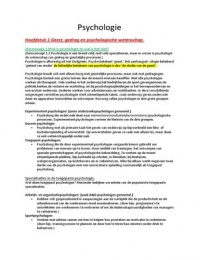SAMENVATTING: Uitgebreide Psychologie, een inleiding 7e Editie samenvatting!