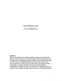 mechanical essay