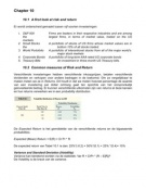 SUMMARY: Samenvatting Financial Managment