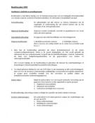 SAMENVATTING: Samenvatting Algemeen boekhouden en kostprijsberekening