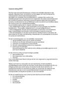 SUMMARY: Samenvatting bedrijfshulpverlening