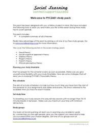 SUMMARY: PYC2601 (Personality theory) Summary Pack