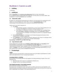SAMENVATTING: Samenvatting + notities auditing