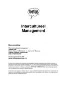SAMENVATTING: Samenvatting Intercultureel management