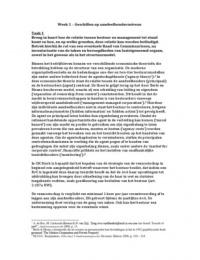 AUTRE: Geschillen in de onderneming Week 1: Geschillen op aandeelhoudersniveau