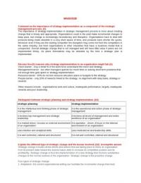 UNISA Assignments