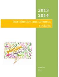 NOTES DE COURS: Sociologie Semestre 1