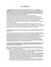 SUMMARY: Zelfstudievragen McCormick hoofdstuk 1,2,3,5 t/m 9