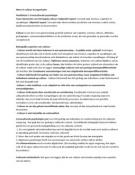 SUMMARY: Samenvatting Cross Culturele Psychologie - Oudenhoven 2012