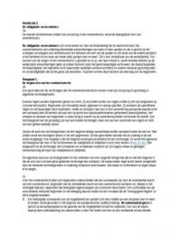 SAMENVATTING: Rechtshandeling en overeenkomst samenvatting