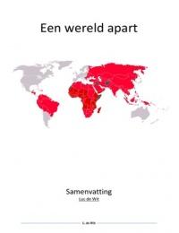 SUMMARY: Een wereld apart